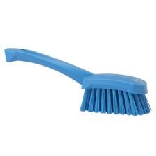 Pesuharja, lyhyt varsi, kova, sininen