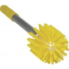 Putkiharja 90 mm keltainen