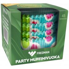 Fredman Party muffinivuoka 45kpl