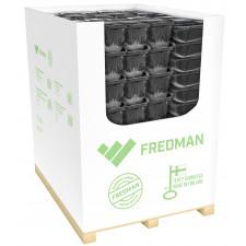 Fredman foliovuoka myymälälava lajitelma