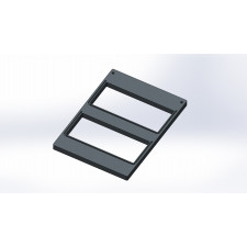 Comple® TP11 rasiatasku, 78mm kolmioleipäkotelolle