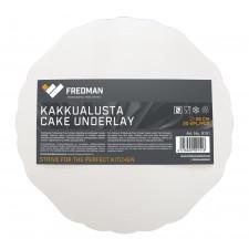 Fredman kartonkinen kakkualusta pyöreä Ø 28 cm