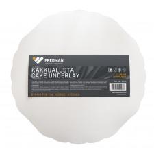 Fredman kartonkinen kakkualusta pyöreä Ø 35 cm