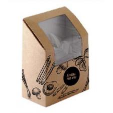 Fredman Tortilla Box käsinsuljettava, ruskea